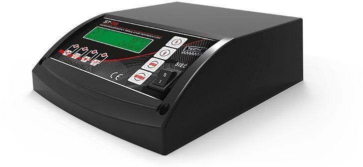 Sterownik 28 SIGMA do kotła zasypowego - wentylator, pompa CO i CWU + automatyczna regulacja obrotów czarny