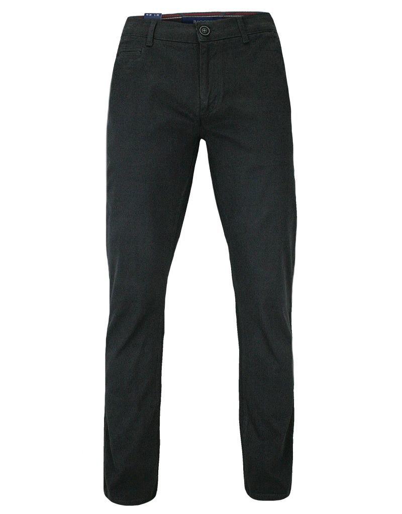 Męskie Spodnie Bawełniane, Chinosy, Zwężane, Grafitowe SPRGN2207645charcoal