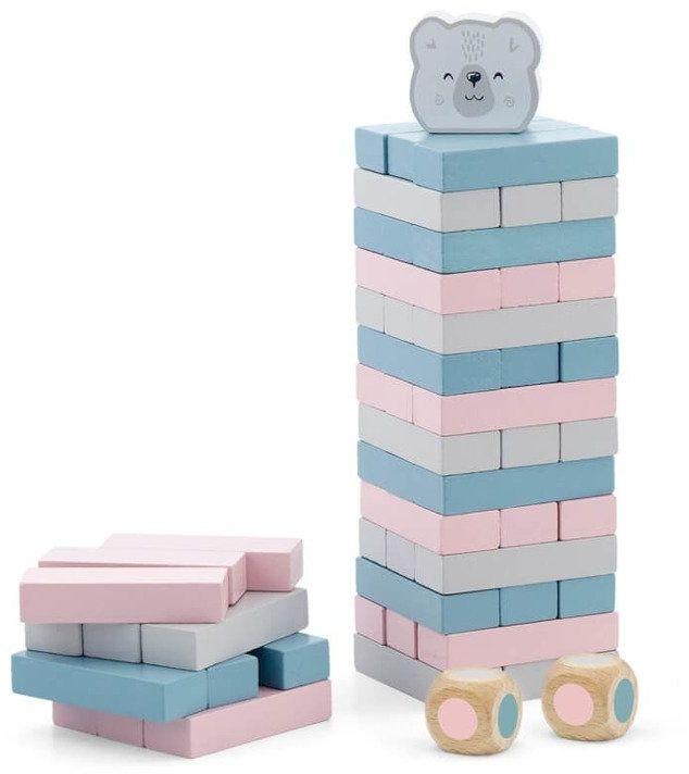 Układanka wieża z misiem polarb viga
