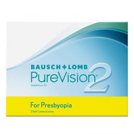 PureVision 2 HD for Presbyopia (Multifocal) 3 szt. TANIE I MARKOWE SOCZEWKI KONTAKTOWE