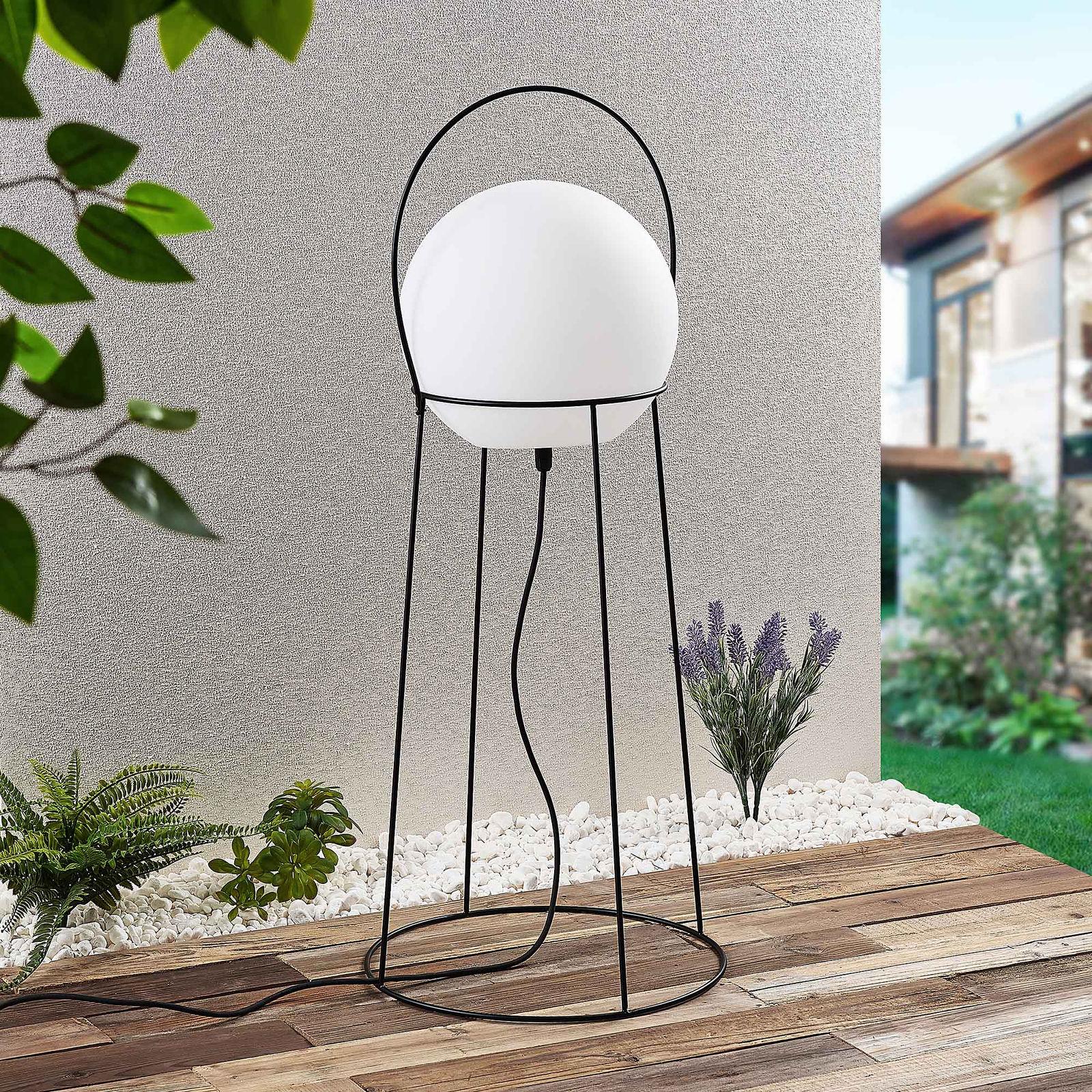 Lucande Hoyka lampa stojąca zewnętrzna