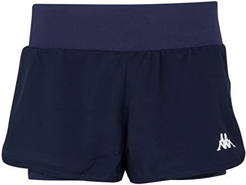 Kappa Falza damskie spodnie do tenisa, niebieskie, XL