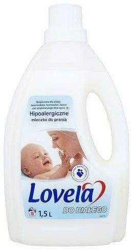 Lovela Hipoalergiczne Mleczko do prania odzieży dziecięcej do bieli 1,504 L