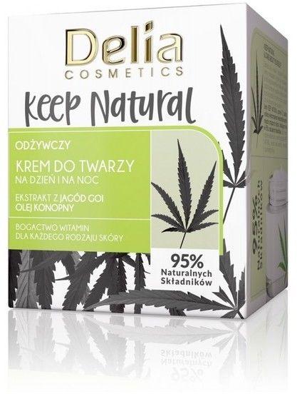 Delia Cosmetics Keep Natural Odżywczy Krem do twarzy na dzień i noc 50ml