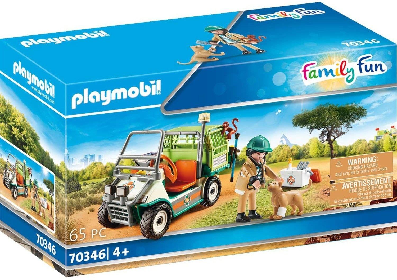 Playmobil - Weterynarz z samochodem 70346