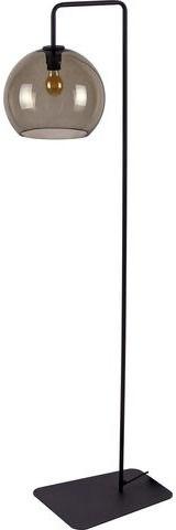 Lampa podłogowa Monaco 8794 Nowodvorski Lighting nowoczesna pojedyncza oprawa z dymionego szkła