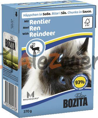 Bozita Feline 370g Renifer w sosie