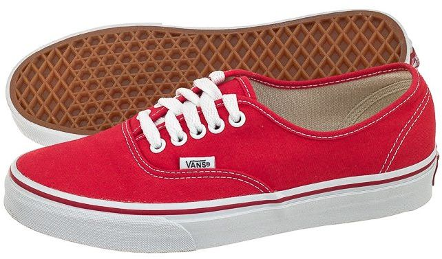 Buty Vans Authentic Red VN-0EE3RED (VA2-a)