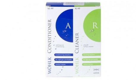 Wöhlk Perfect Conditioner + Cleaner 45 + 15 ml TANIE I MARKOWE SOCZEWKI KONTAKTOWE