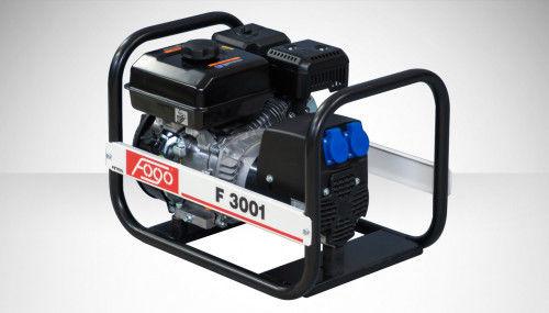 Fogo F 3001 Agregat prądotwórczy jednofazowy 230V, moc max - 3,0kW