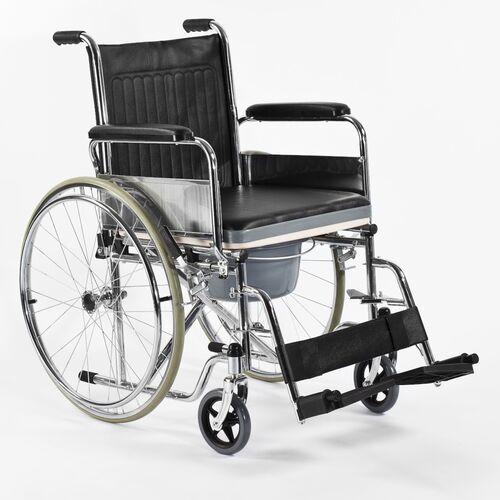 Wózek inwalidzki stalowy Comfort-TIM FS 681/FS 681U Timago z funkcją toalety