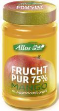 Mus z MANGO (75% owoców) BIO 250 g Allos