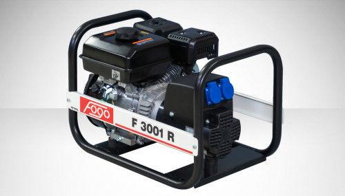 Fogo F 3001 R Agregat prądotwórczy jednofazowy 230V, moc max - 2,7 kW AVR automatyczny regulator napięcia