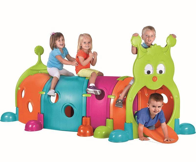 Tunel dla dzieci FEBER - GĄSIENICA