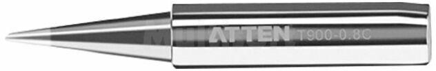 Grot ścięty stożek ATTEN 0,8mm do lutownicy do stacji lutowniczej