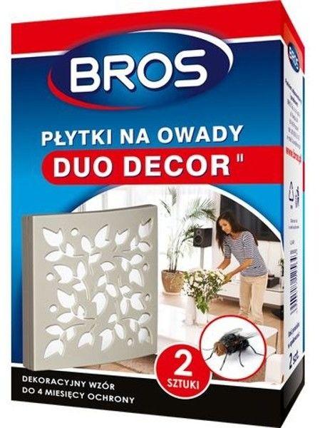 Bros Płytki na owady Duo Decor 2szt
