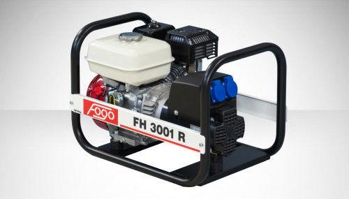 Fogo FH 3001 R Agregat prądotwórczy jednofazowy 230V, moc max - 2,7 kW AVR automatyczny regulator napięcia