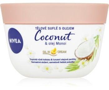 Nivea Coconut & Monoi Oil śmietanka do ciała 200 ml