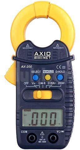 Miernik cęgowy AX-200 AC-2/20/200A