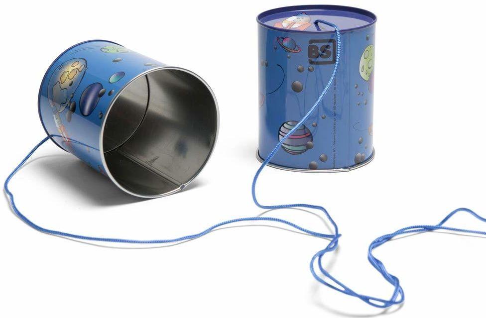 BS GA361 telefon na puszce telefon, niebieski