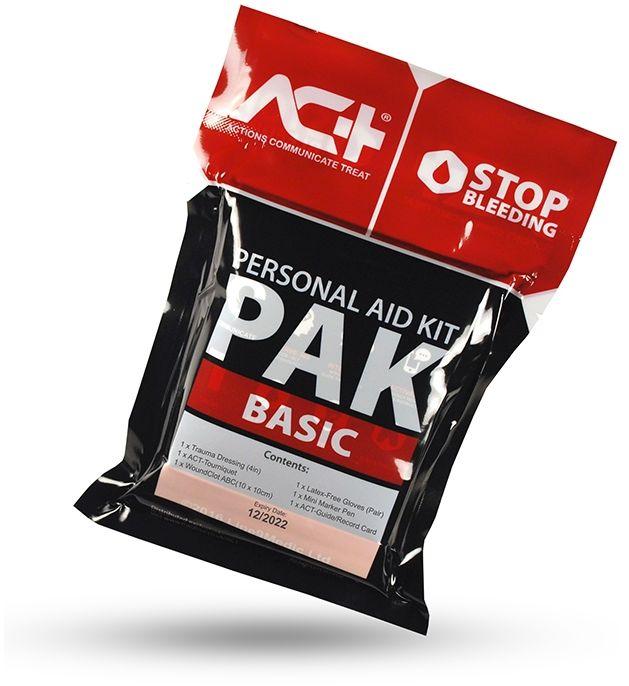 ACT-PAK BASIC podstawowy, indywidualny zestaw do tamowania masywnego krwotoków