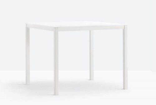 Pedrali Stół Kuadro 80x80 BI Biały