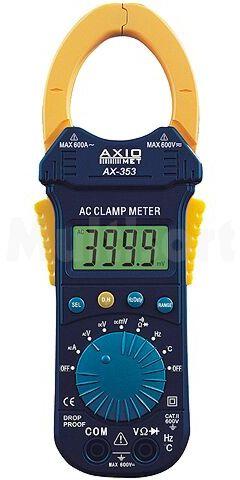 Miernik cęgowy AX-353 LCD AC-400/600A