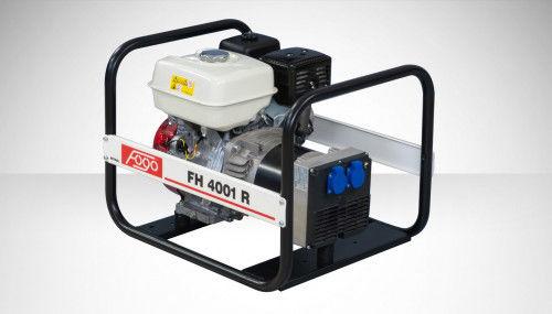 Fogo FH 4001 R Agregat prądotwórczy jednofazowy 230V, moc max - 4,2 kW AVR automatyczny regulator napięcia