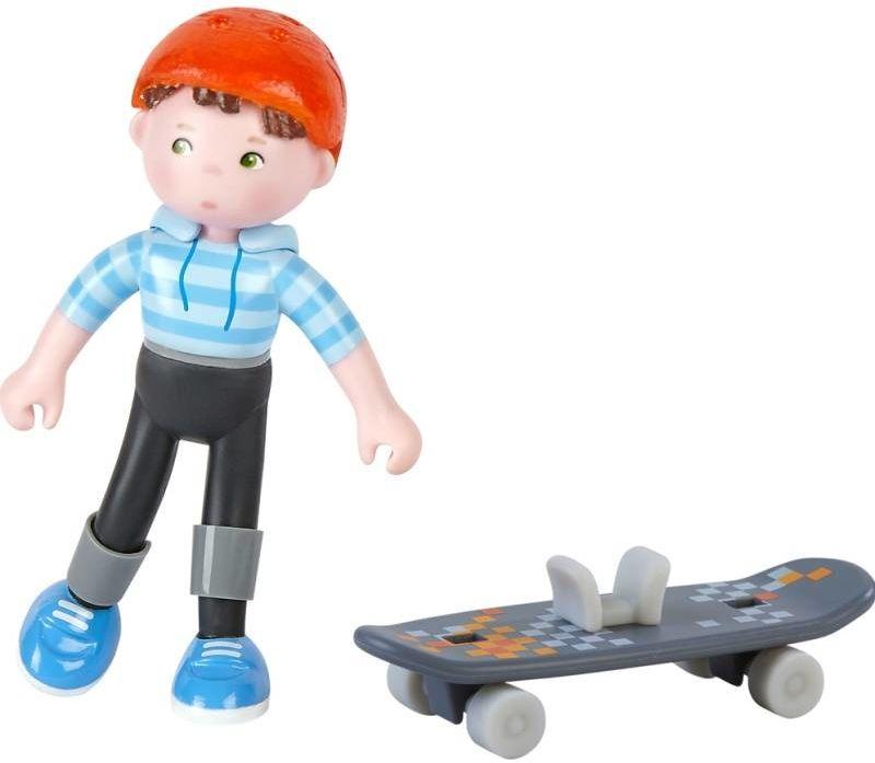 Figurka dla dzieci z akcesoriami Marc Little Friends Hb304744-Haba, elastyczne laleczki