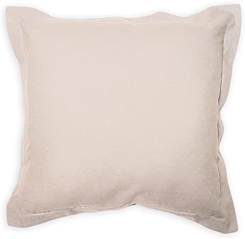 Poduszka dekoracyjna 60x60 cm bawełna PANAMA ecru