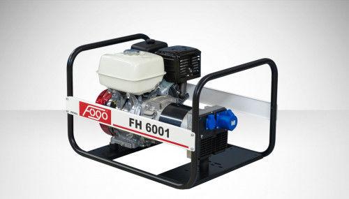 Fogo FH 6001 Agregat prądotwórczy jednofazowy 230V, moc max - 6,2 kW