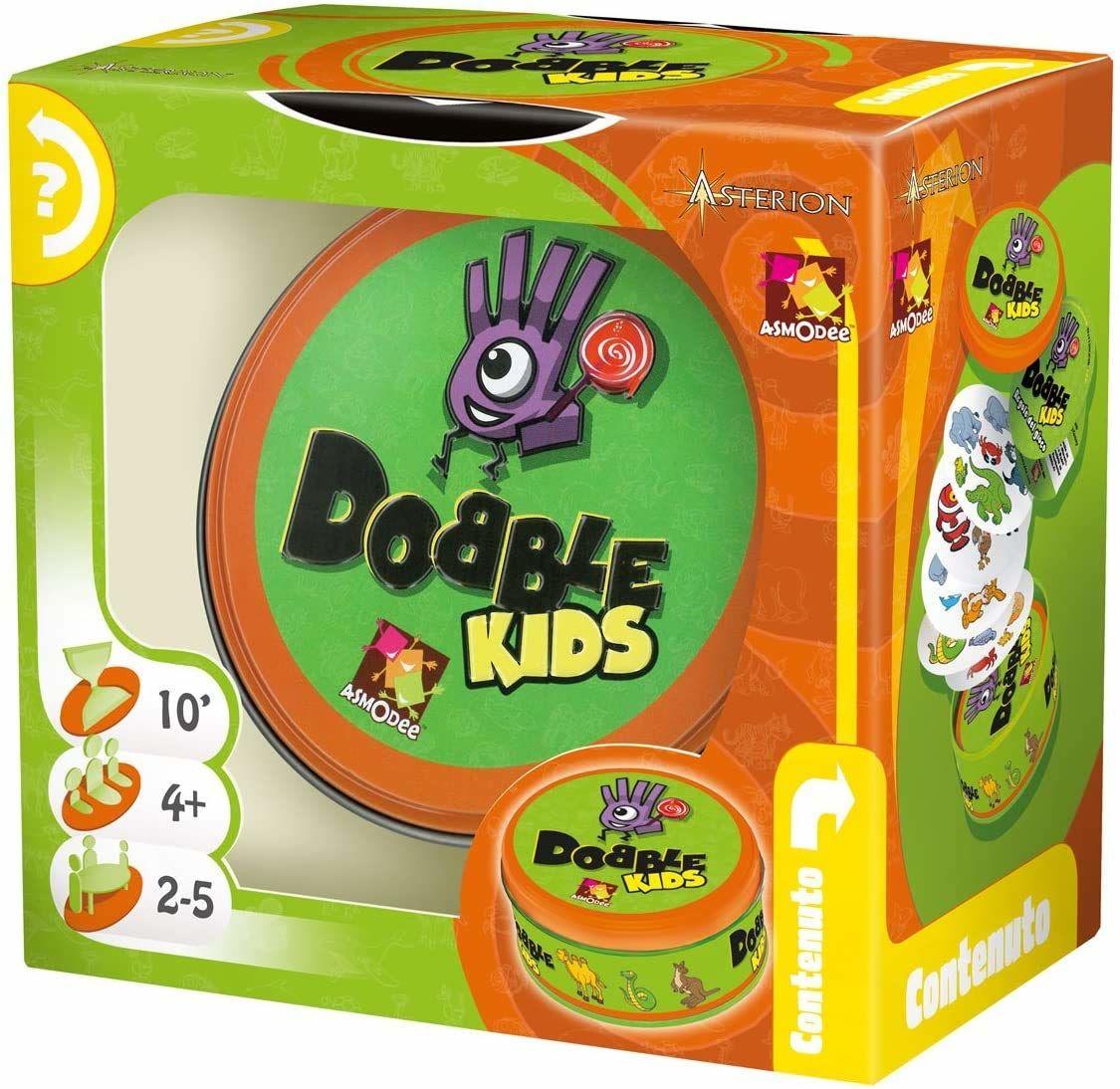 Asmodee-Dobble Kids, kolor, 8231