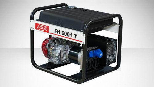 Fogo FH 6001 T Agregat prądotwórczy jednofazowy 230V, moc max - 6,2 kW - powiększony zbiornik paliwa