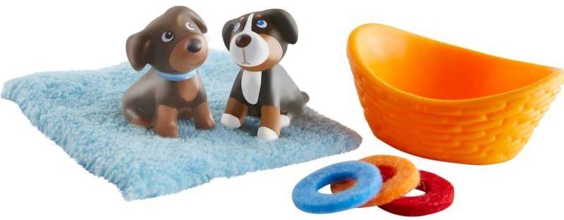 Figurki dla dzieci Szczenięcy duet Little Friends HB304751-Haba, odgrywanie ról