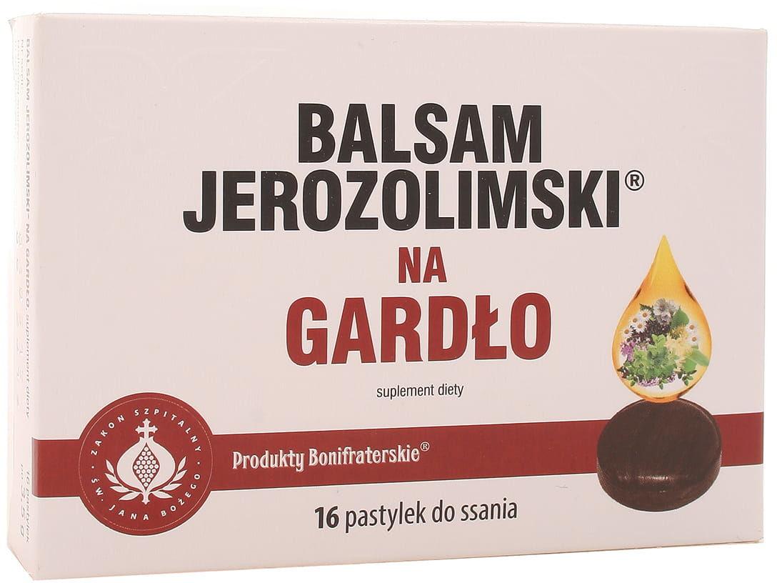 Balsam jerozolimski na gardło - Konwent Bonifratrów - 16past