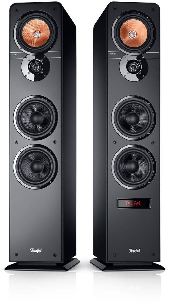 Teufel ULTIMA 40 ACTIVE, kolumny stereo czarne