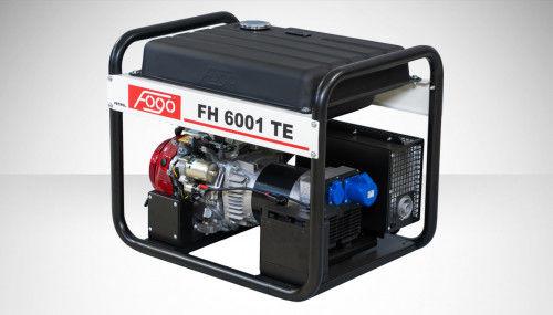 Fogo FH 6001 TE Agregat prądotwórczy jednofazowy 230V, moc max - 6,2 kW - elektryczny rozrusznik, powiększony zbiornik paliwa