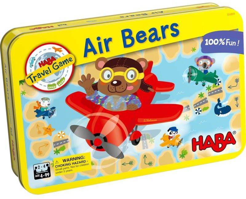 Magnetyczna gra podróżna Podniebne misie HB30489-Haba, zabawy edukacyjne