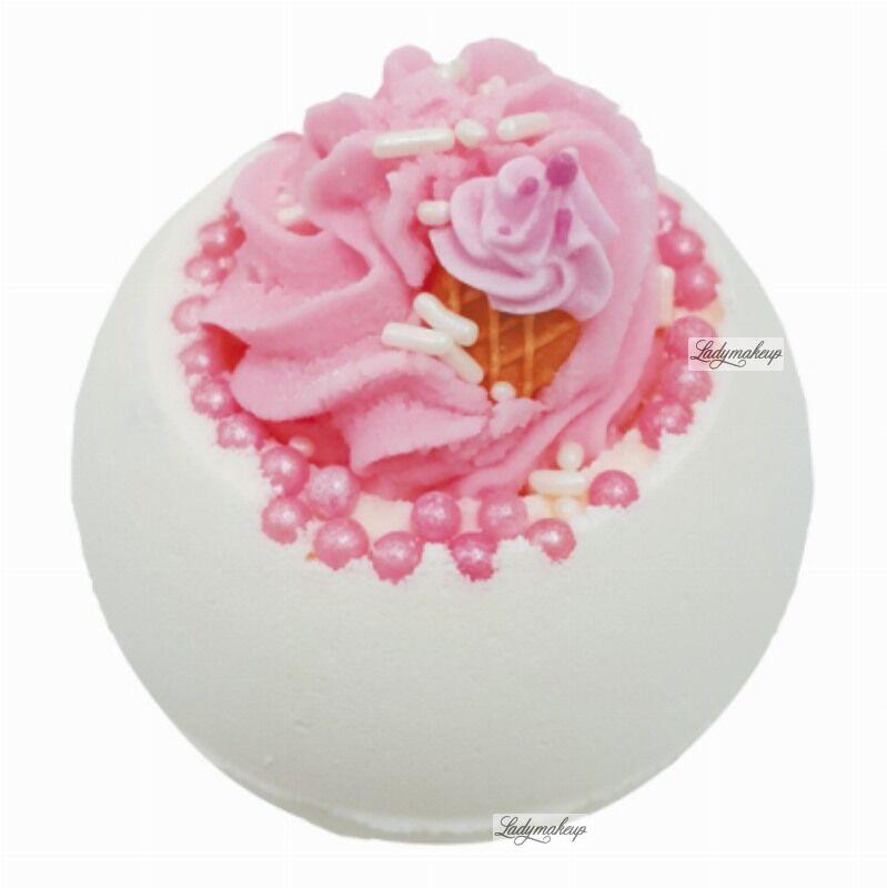 Bomb Cosmetics - Ice Cream Queen - Musująca kula do kąpieli - LODOWA KRÓLOWA