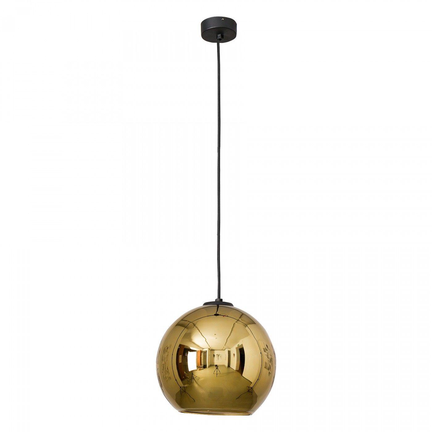 Lampa wisząca Polaris 9057 Nowodvorski Lighting złota oprawa w kształcie kuli