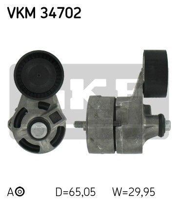 napinacz paska napędowego alternatora - Ford 2.4 TDCI