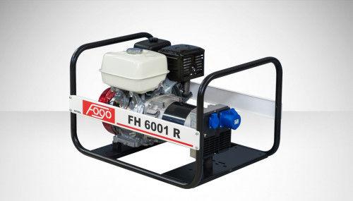 Fogo FH 6001 R Agregat prądotwórczy jednofazowy 230V, moc max - 6,2 kW AVR automatyczny regulator napięcia