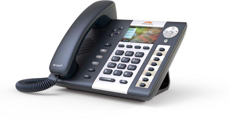 Platan IP-T216CG - telefon VoIP Gigabit 4 SIP