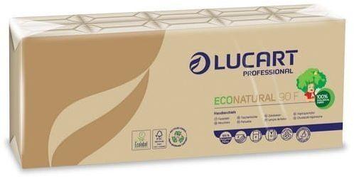 LUCART Chusteczki higieniczne EcoNatural 9x10 sztuk
