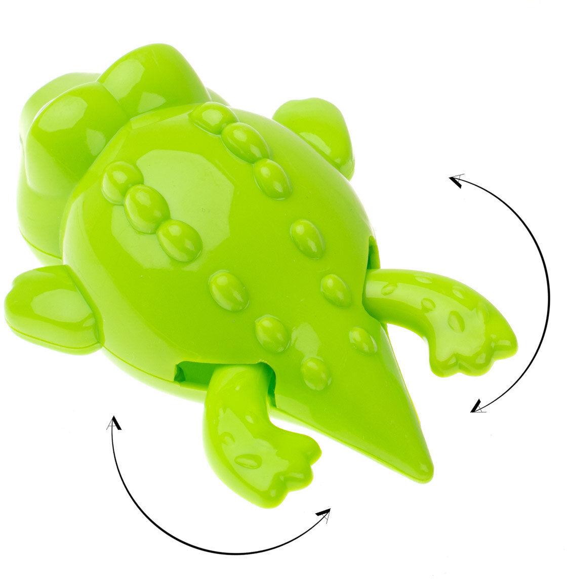 Zabawka do kąpieli pływający nakręcany krokodyl