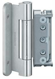 Zawias do drzwi zewnętrznych BAKA protect 4010 3D ocynk srebrny