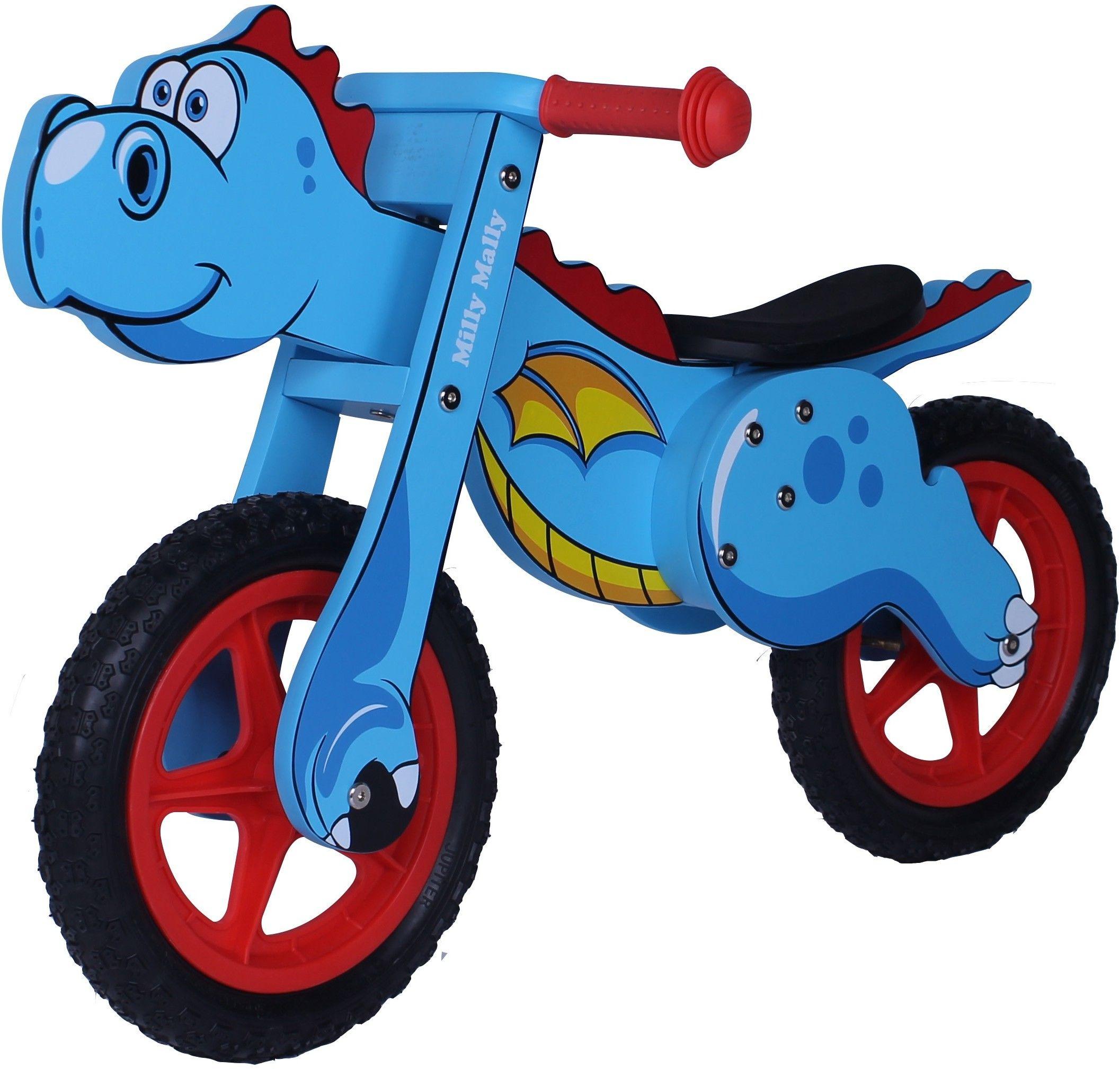 Rowerek Biegowy Dino Mini Blue