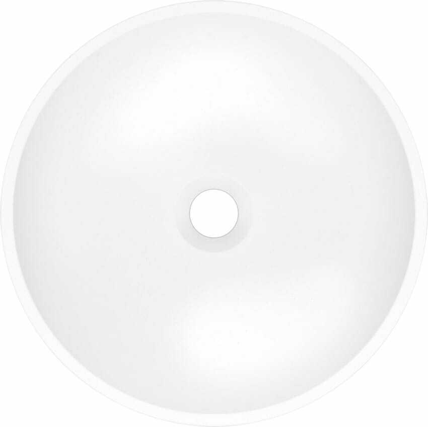 Umywalka nablatowa MAUN 40 Biały