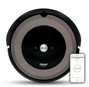 iRobot Roomba e5 - Srebrna + BEZPŁATNA 3-letnia GWARANCJA - Zobacz i testuj robota na żywo w naszym sklepie w Warszawie lub wysyłka w 24h!
