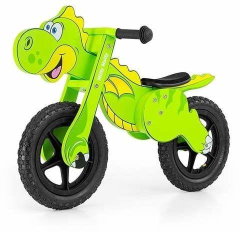 Rowerek Biegowy Dino Mini Green